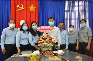 Các cơ quan, đơn vị chúc mừng Báo Tây Ninh nhân ngày 21.6