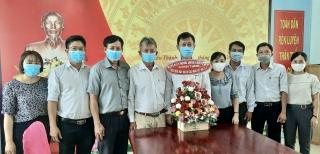 Chúc mừng Ngày Báo chí cách mạng Việt Nam tại Trung tâm Văn hoá, Thể thao và Truyền thanh huyện