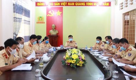 Đảng ủy Phòng CSGT phát huy vai trò lãnh đạo trong thực hiện nhiệm vụ chính trị