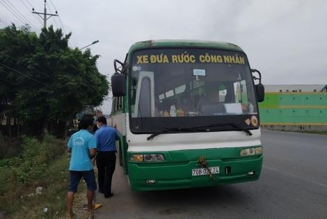 Xe đưa đón công nhân không được chở quá 20 người