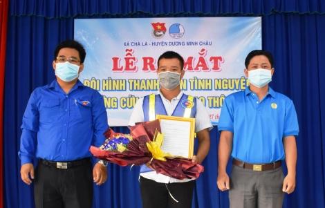 Ra mắt Đội thanh niên tình nguyện ứng cứu tai nạn giao thông
