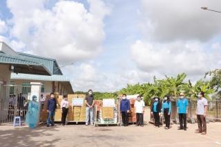 Liên đoàn Lao động tỉnh: Thăm, tặng quà công nhân, lao động Công ty Winga Việt Nam