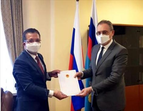 Việt Nam mong muốn đẩy mạnh hợp tác hiệu quả với Nga