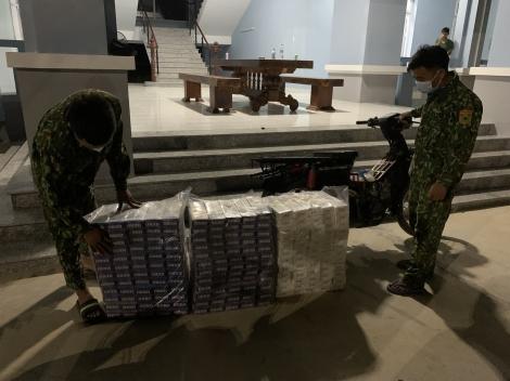 Đồn Biên phòng Tân Hà: Bắt giữ 1.800 gói thuốc lá ngoại trên đường biên