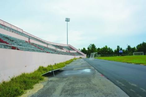 Đìu hiu sân vận động Tây Ninh