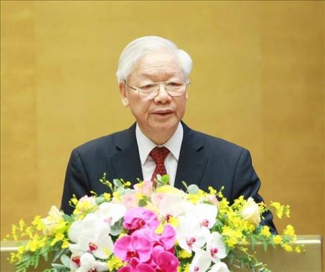 Khai mạc trọng thể Hội nghị lần thứ 3 Ban Chấp hành Trung ương Đảng khóa XIII