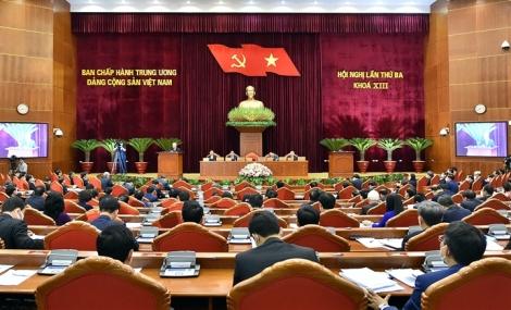 Xây dựng quy chế làm việc của Ban Chấp hành Trung ương, Bộ Chính trị, Ban Bí thư