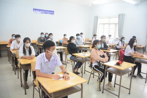 Tây Ninh: 110 thí sinh không đến làm thủ tục dự thi THPT 2021