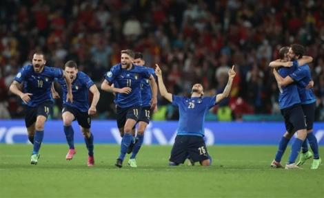 Nghẹt thở hạ Tây Ban Nha, Italy vào chung kết EURO 2020