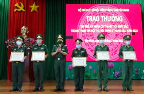Bộ đội Biên phòng tỉnh: Sơ kết công tác Biên phòng 6 tháng đầu năm 2021