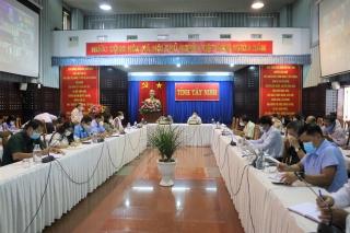 Tây Ninh nâng cao mức độ phòng, chống dịch Covid-19 tại các địa phương có ca nhiễm cộng đồng