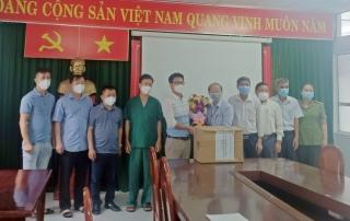Sở Y tế tỉnh Bắc Giang hỗ trợ công tác chống dịch tại Tây Ninh