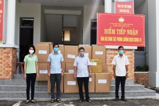 Huyện Dương Minh Châu: Tiếp nhận hàng ngàn bộ test nhanh