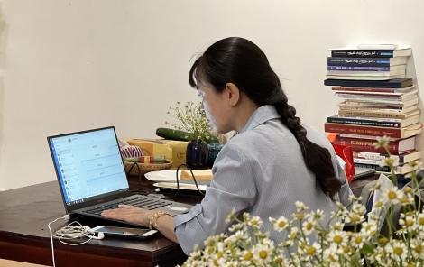 Bố trí luân phiên 50% cán bộ, công chức làm việc tại nhà