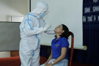 Hơn 100 thanh niên Tây Ninh tình nguyện lên đường, sẵn sàng hỗ trợ công tác truy vết, lấy mẫu