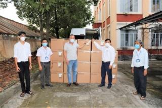 Tập đoàn Sungroup: Tặng hơn 15.000 bộ kit xét nghiệm Covid-19 cho ngành Y tế Tây Ninh