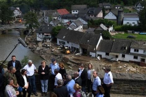188 người chết vì lũ lụt ở châu Âu, Thủ tướng Đức thốt lên 'thật kinh hoàng'