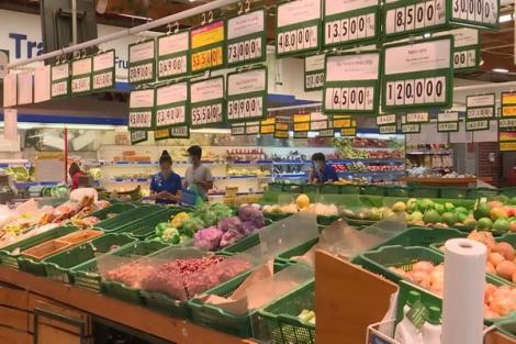 Tây Ninh: Sáng 20.7 giá cả một số loại thực phẩm tăng nhẹ, sức mua giảm