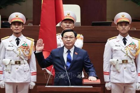 Chủ tịch Quốc hội Vương Đình Huệ: Mục tiêu tối thượng vì hạnh phúc của nhân dân