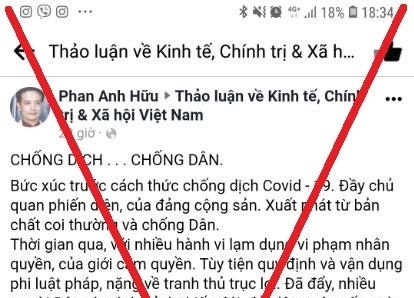 TP Hồ Chí Minh phản hồi thông tin sai sự thật về việc người dân bức xúc tự thiêu