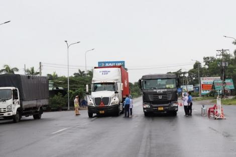 Nỗ lực bảo đảm hàng hoá lưu thông an toàn trong mùa dịch