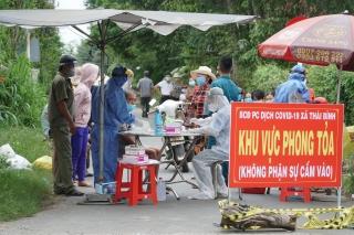 Huyện Châu Thành: Lập phương án phòng, chống dịch Covid- 19 đối với cơ sở sản xuất, kinh doanh, cụm công nghiệp