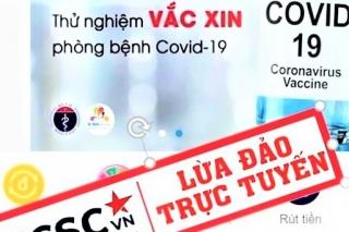 Đường dây nóng tố cáo thủ đoạn lợi dụng tình hình dịch COVID-19 để lừa đảo