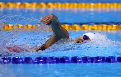 Ánh Viên không thể vào bán kết 200 m tự do tại Olympic