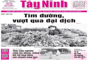 Điểm báo in Tây Ninh ngày 28.07.2021