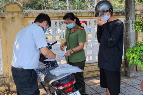 Tây Ninh: Tăng cường xử lý trường hợp vi phạm Chỉ thị số 16/CT-TTg