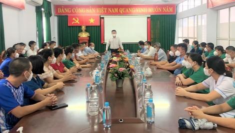 Tây Ninh:  Đón đoàn y, bác sĩ tỉnh Bắc Giang đến hỗ trợ công tác phòng, chống dịch Covid-19