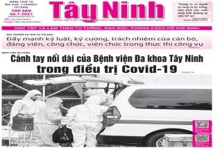 Điểm báo in Tây Ninh ngày 30.07.2021