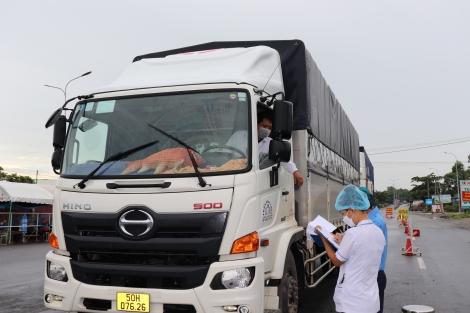 Doanh nghiệp vận tải: Đồng lòng phòng, chống dịch