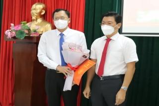 Ông Huỳnh Thanh Phương giữ chức vụ Bí thư Huyện ủy Gò Dầu