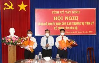 Ông Trương Nhật Quang giữ chức vụ Trưởng Ban Dân vận Tỉnh ủy