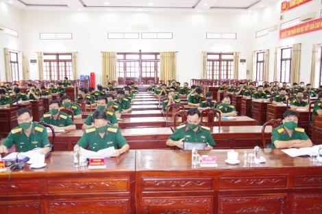 Sư đoàn 5: Báo cáo nhanh kết quả Hội nghị lần thứ ba Ban Chấp hành Trung ương Đảng khóa XIII trong Đảng bộ Sư đoàn