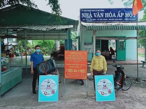Hội Nông dân huyện Tân Biên chung tay phòng chống Covid-19