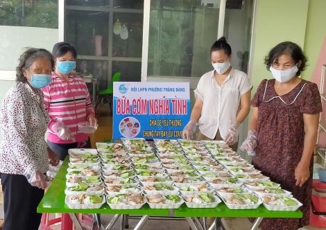 Hội LHPN thị xã Trảng Bàng: Nhiều hoạt động thiết thực chung tay phòng, chống dịch