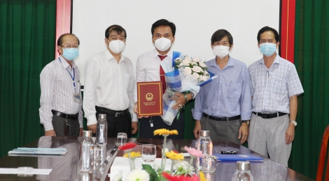 Ông Đàm Văn Cường được bổ nhiệm làm Phó Giám đốc Sở Y tế