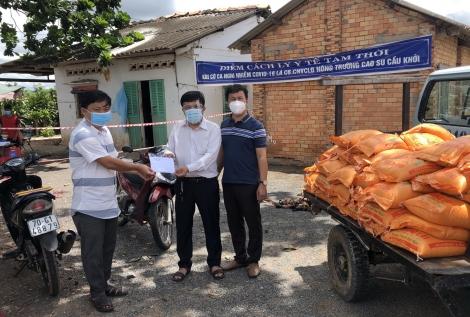 Báo Tây Ninh: Tiếp tục vận động hỗ trợ địa phương vùng dịch