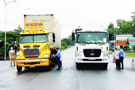 Doanh nghiệp vận tải: Chung tay phòng, chống dịch