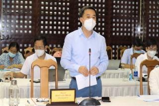 Bộ Y tế làm việc với Ban Chỉ đạo phòng, chống dịch Covid-19 Tây Ninh