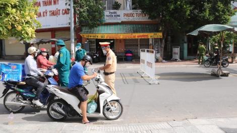 Huyện Gò Dầu thiết lập 56 chốt kiểm soát phòng, chống dịch Covid-19 trên địa bàn huyện