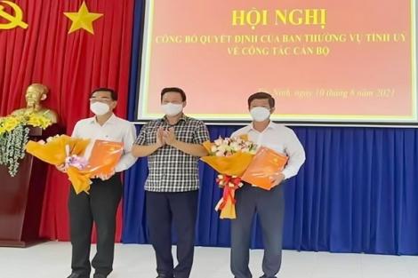 Ông Trịnh Văn Phước giữ chức Bí thư Đảng uỷ Khối Cơ quan và Doanh nghiệp tỉnh
