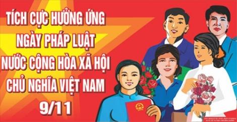 """Sở Tư pháp ban hành Kế hoạch hưởng ứng """"Ngày pháp luật Việt Nam"""""""