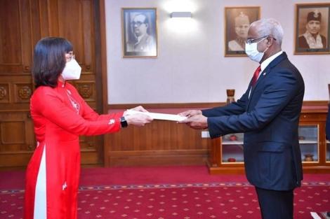 Thúc đẩy quan hệ hữu nghị và hợp tác Việt Nam - Maldives