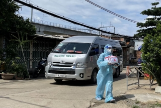 TP Hồ Chí Minh thành lập 389 Trạm y tế lưu động để quản lý và chăm sóc F0