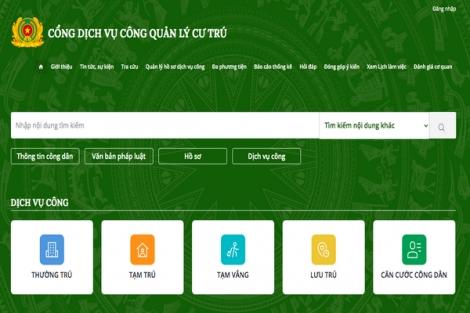Tây Ninh: Có hơn 400 hồ sơ về cư trú đăng ký trực tuyến trên Cổng dịch vụ Công Quốc gia