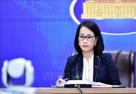 Họp báo thường kỳ Bộ Ngoại giao đề cập nhiều vấn đề dư luận quan tâm