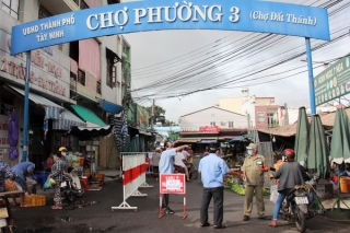 Chợ truyền thống được mở cửa nếu bảo đảm an toàn phòng dịch